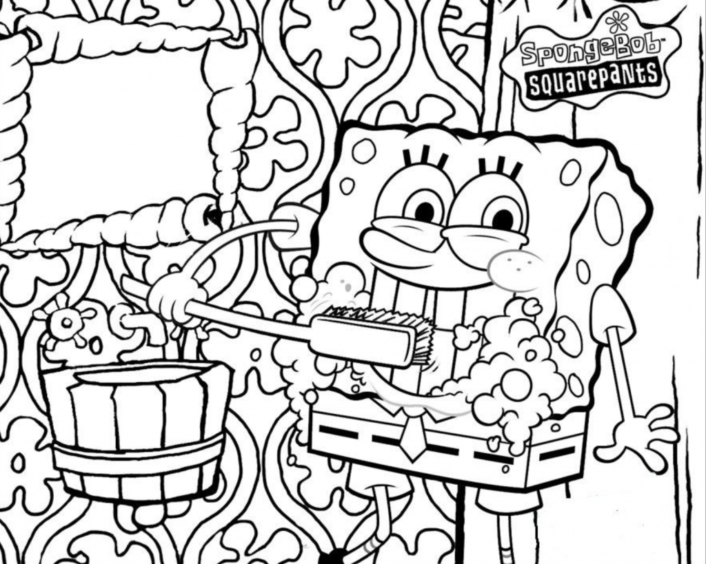 Coloring Spongebob